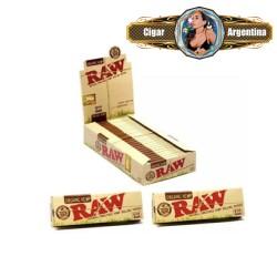 RAW ORGANIC 1 1/4 X 50 - CAJA X 24
