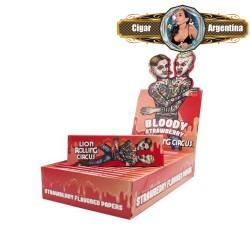 FLAVOUR BLOODY STRAWBERRY 1 1/4 X 50 - CAJA X 25