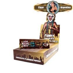 FLAVOURS FUNKY CHOCOLATE 1 1/4 X 50 - CAJA X 25