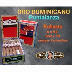 ORO DOMINICANO PUNTLANZA Robusto - Box x 10