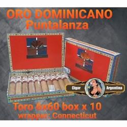 ORO DOMINICANO - TORO PUNTALANZA 60x6 Connecticut - Box x 10