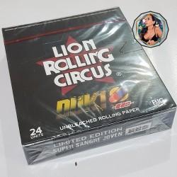 LION ROLLING CIRCUS - DUKI UNBLEACHED KSx50 - CAJA x 24