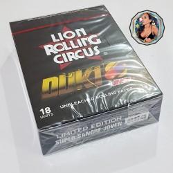LION ROLLING CIRCUS - Ed. DUKI - UNBLEACHED 1 1/4 x 50 - CAJA x 18
