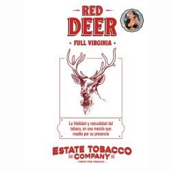 ESTATE TOBACCO - RED DEER Full Virginia x 50 Gr