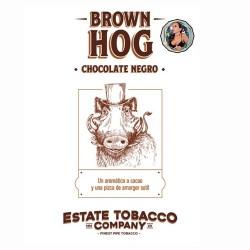 ESTATE TOBACCO - BROWN HOG Chocolate negro x 50 Gr