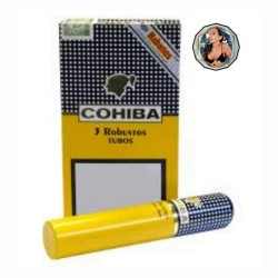 COHIBA - ROBUSTO TUBO x 3