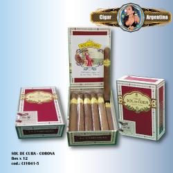 SOL DE CUBA - Corona Box x 12