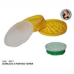 PICADOR ACRILICO 2P TAPER - CAJA X 12