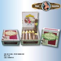 SOL DE CUBA - Petit Robusto Box x 10