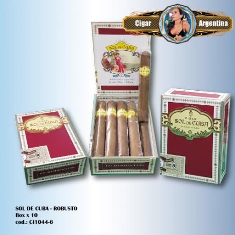 SOL DE CUBA - Robusto Box x 10