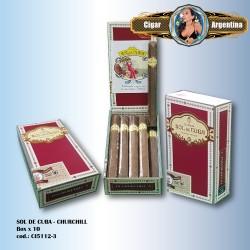 SOL DE CUBA - Churchill Box x 10