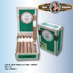 LUIS M. SOSA PADILLA Ed.1900 - Corona Box x 12
