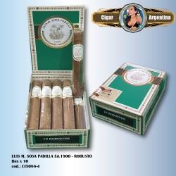 LUIS M. SOSA PADILLA Ed.1900 - Robusto Box x 10