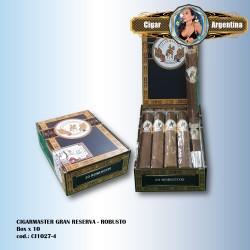 CIGARMASTER GRAN RESERVA - Robusto Box x 10