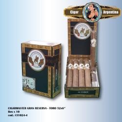 CIGARMASTER GRAN RESERVA - Toro Box x 10