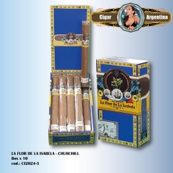 LA FLOR DE LA ISABELA - Churchill Box x 10
