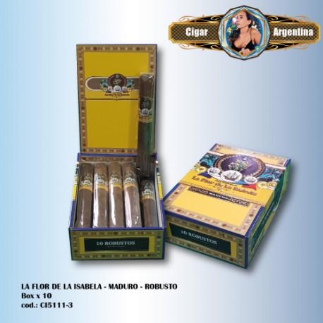 LA FLOR DE LA ISABELA MADURO - Robusto Box x 10