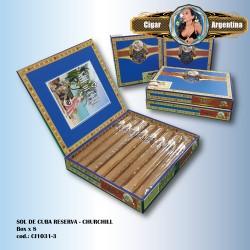 SOL DE CUBA RESERVA - Churchill Box x 8