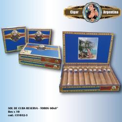 SOL DE CUBA RESERVA - Toro box x 10