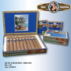 SOL DE CUBA RESERVA - Robusto Box x 10