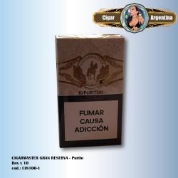 CIGARMASTER GRAN RESERVA - Purito Box x 12