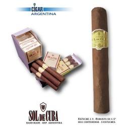 SOL DE CUBA - ROBUSTO - Box x 3