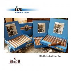 SOL DE CUBA RESERVA GRAN TORO - Box x 10