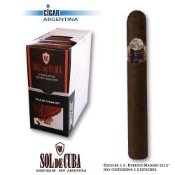 SOL DE CUBA RESERVA ROBUSTO MADURO - Box x 3
