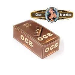 OCB UNBLEACHED N8 (no blanqueado) x 50 - CAJA X 50