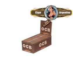 OCB UNBLEACHED 1 1/4 (no blanqueado) x 50 - CAJA X 25