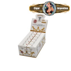 PRE ROLLED TIPS WHITE X 120 - CAJA X 12